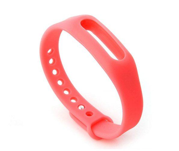 بند سیلیکونی رنگی دستبند سلامتی شیائومی مدل Mi Band 1s