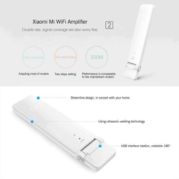 تقویت کننده وای فای شیائومی مدل Mi WiFi