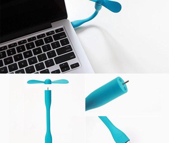 پنکه همراه شیائومی مدل پرتابل USB Fan