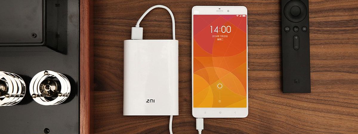 پاور بانک و مودم همراه ۴G شیائومی مدل ZMI MF815