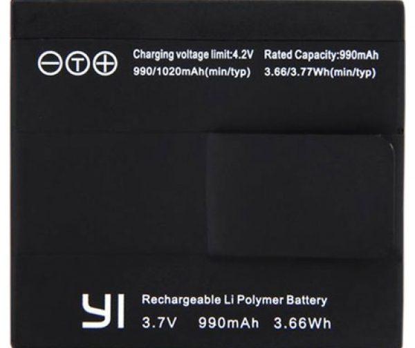 باتری اورجینال دوربین ورزشی و فیلمبرداری شیائومی مدل Yi