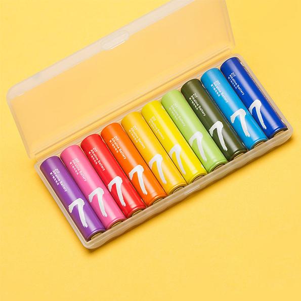 باتری نیم قلم رنگین کمانی شیائومی