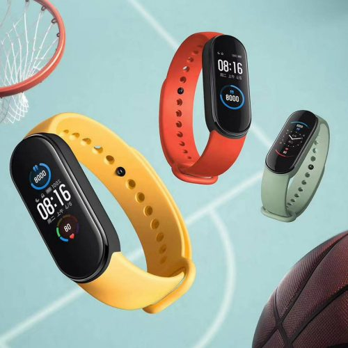 دستبند سلامتی شیائومی مدل می بند ۵ گلوبال