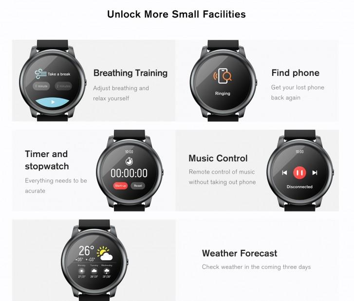 ساعت هوشمند شیائومی مدل هایلو ال اس 05 سولار
